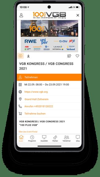 Referenz VGB - Smartphone
