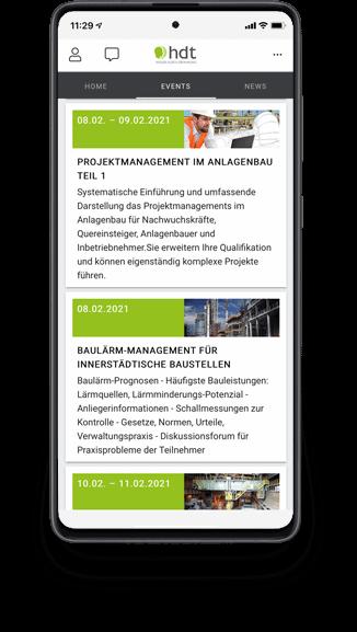 zummit Referenz: hdt Event-Platform - Phone
